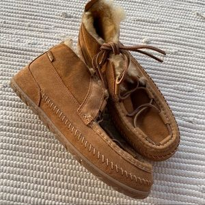 L.L. Bean Men's Moccasins 10 NEW